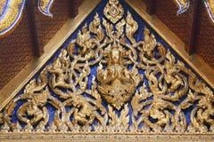 Dachowy czerep królewiątko pałac w Bangkok Zdjęcie Stock