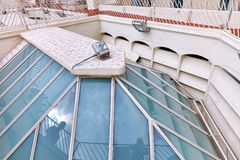 Dachowy domowy Casa Batlo Fotografia Royalty Free