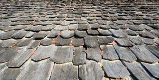 Dachowy drewno obraz stock