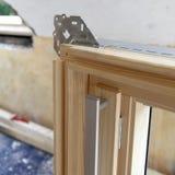 dachowy instalaci okno Fotografia Stock