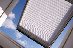 dachowy okno Zdjęcia Stock