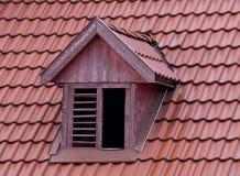 dachowy okno Obraz Royalty Free
