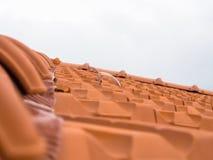 Dachowy spadku system ochrony Obrazy Royalty Free