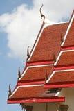 dachowy stylowy świątynny tajlandzki tradycyjny Obrazy Stock