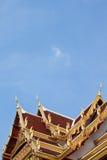 dachowy stylowy tajlandzki Zdjęcie Royalty Free