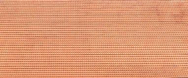 Dachowy tło z czerwieni płytką Zdjęcia Stock