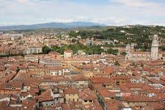Dachowy Verona Zdjęcie Royalty Free