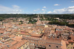 Dachowy Verona Fotografia Stock