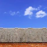 Dachowy wierzchołek Fotografia Royalty Free