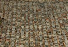 Dachowych płytek tło Fotografia Royalty Free