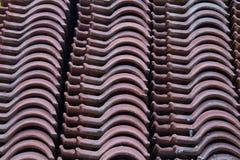 Dachowych płytek wzór obraz royalty free