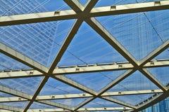Dachparken in Brüssel-Beschaffenheit stockfoto