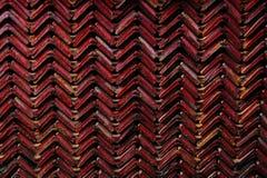 Dachplattehintergrund Stockfoto