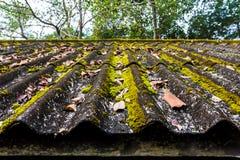 Dachplatten alt lizenzfreies stockfoto