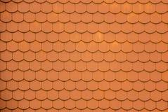 Dachplatten Außen-dietails des Livonia-Bestellungs-Schlosses wurden mitten in dem 15. Jahrhundert errichtet Bauska Lettland Stockfoto