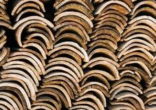 Dachplatten, Spanien 2005 Lizenzfreie Stockbilder