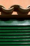 Dachplattenahaufnahme Lizenzfreies Stockbild