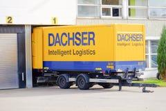Dachser聪明的后勤学 库存照片