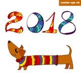Dachshhund Στοκ φωτογραφία με δικαίωμα ελεύθερης χρήσης