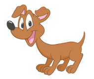 dachshund счастливый Иллюстрация вектора