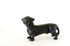 Dachshund Door Stop Royalty Free Stock Photography