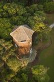 Dachspitze des Kontrollturms. lizenzfreie stockbilder