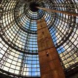Dachspitze des Melbourne-Malls Stockfotografie