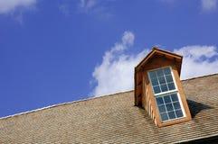 Dachspitze-Fenster Stockfoto