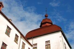 Dachspitze an Lacko-Schloss Lizenzfreie Stockfotografie