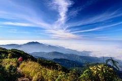 Dachspitze von Thailand Stockbilder
