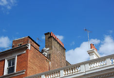 Dachspitzen Stockfotografie