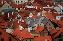 Dachspitzen Stockfoto