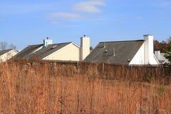 Dachspitzen lizenzfreies stockfoto