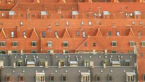 Dachspitzen in Amager, Kopenhagen Stockfoto