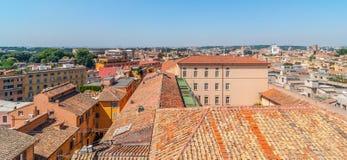 Dachspitzen-Ansicht von Rom lizenzfreie stockfotografie