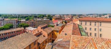 Dachspitzen-Ansicht von Rom lizenzfreies stockfoto