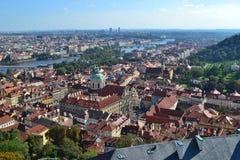 Dachspitzen der Stadt Lizenzfreie Stockfotos
