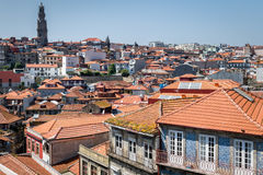 Dachspitzen in Porto, Portugal Lizenzfreie Stockfotografie