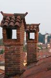 Dachspitzen in Vicenza Lizenzfreies Stockbild