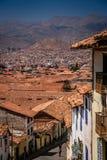 Dachspitzen von Cusco Lizenzfreies Stockfoto