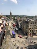 Dachspitzen von Oxford stockfotos