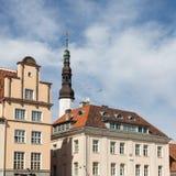 Dachspitzen von Tallinn lizenzfreie stockfotografie