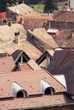 Dachspitzennahaufnahme Stockbilder