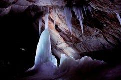 Dachstein冰洞 免版税库存图片