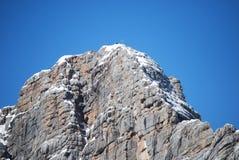 Dachstein山峰 图库摄影