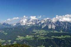 Dachstein山,奥地利 免版税图库摄影