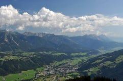 Dachstein山,奥地利 免版税库存图片