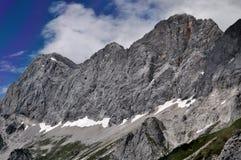 Dachstein山,奥地利 库存照片