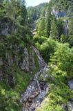 Dachstein山, Silberkarklamm,奥地利 库存图片