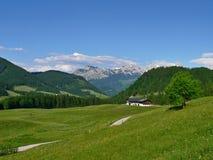 Dachstein的视图 库存照片